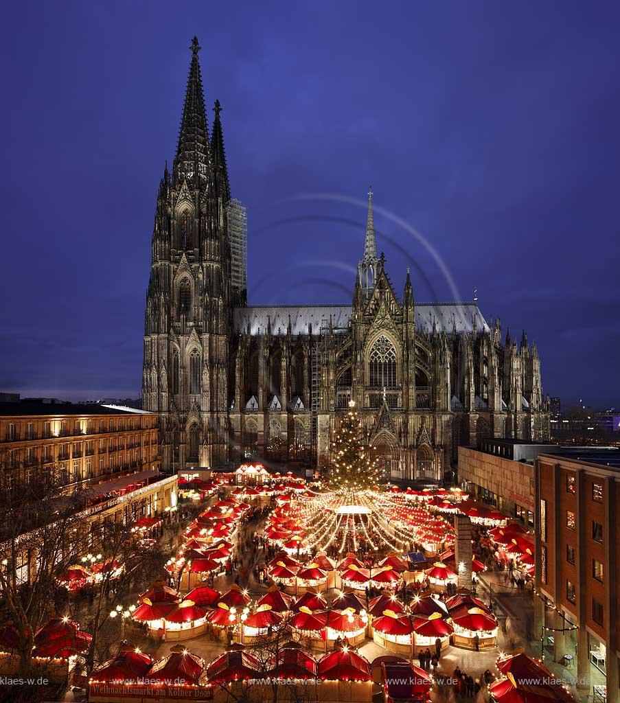 Köln Weihnachtsmarkt Dom