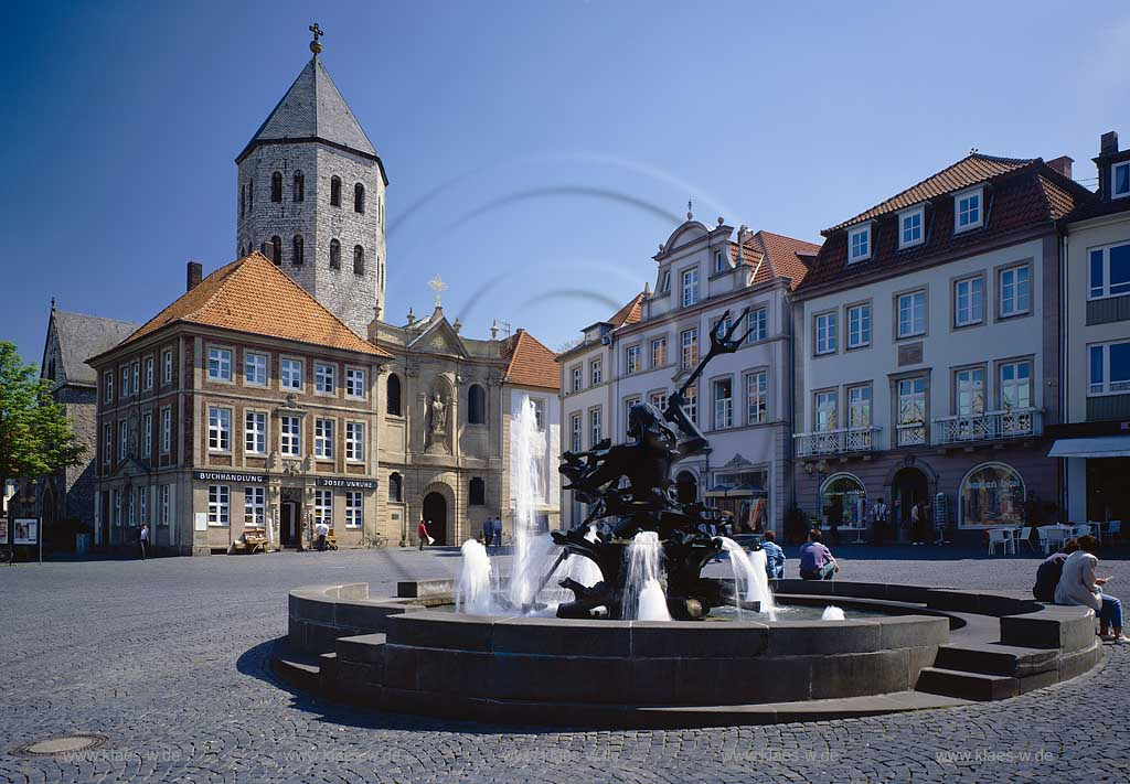 paderborn neptunbrunnen gaukirche. Black Bedroom Furniture Sets. Home Design Ideas